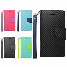For Apple iPhone 6 4.7 Inch Wallet Flap Flip PU Leather Pouch Case Cover Colors