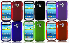 AT&T Samsung Galaxy S3 MINI i8190 Rubberized HARD Protector Case Phone Cover