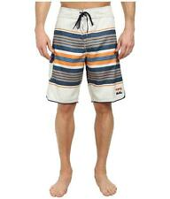 Billabong All Day Stripe Boardshorts Mens Orange Striped Shorts Board New NWT
