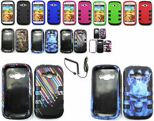 Tuff Armor Hybrid Hard Case+Car Charger For Samsung Galaxy Ring,Prevai