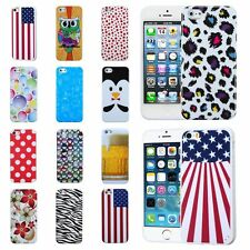 Various Colors TPU Gel Soft Rubber Case Skin Cover For Apple iPhone 5 5th 5S