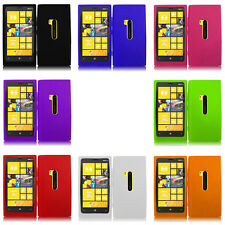 For Nokia Lumia 920 AT&T Colorful Black Silicone Rubber Skin Soft Case Cover