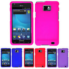 For Samsung Galaxy S2 S II i9100 i9100G Colorful Rubberized Hard Case Cover