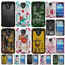 For Samsung Galaxy S4 Active i537 Hybrid Tough Defender Hard Case Cove