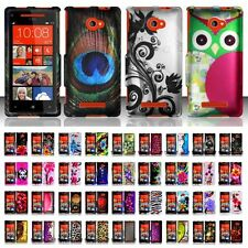 Hard Case Snap-On Plastic Cover Skin For HTC Windows Phone 8X Zenith 6