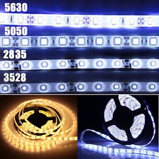 5M 5630 5050 2835 3528 SMD Bande Ruban LED Strip Flexible Lumiere Eclairage 12V