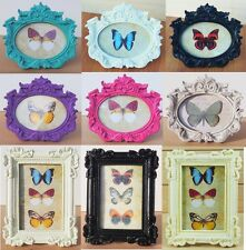 Vintage Style Oval Photo Frame Antique Picture Holder Shabby Chic Ornate Gift