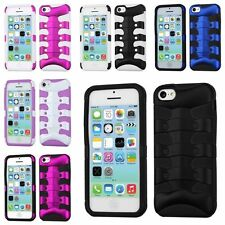 Combo Matte Rugged Rubberized Hard Hybrid Fishbone Case Cover Skin For