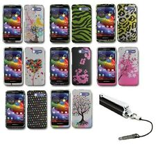 For Motorola Electrify M XT901 Design Hard Cell Phone Case Cover+Stylus Pen