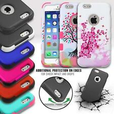FOR APPLE IPHONE 6 PLUS (5.5 Inch) TUFF DUAL LAYER SHOCKPROOF HYBRID IMPACT CASE