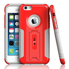 "For Apple iPhone 6 4.7"" Plus 5.5"" Premium Hybrid Armor PC+TPU Slim Case Stand"