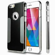 Aluminum Ultra Thin Metal Brushed Chrome Back Case Cover  for iPhone6