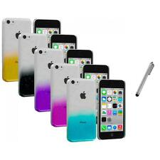 For Apple iPhone 5C Transparent Hard Raindrop Ultra Thin Case Cover+Me