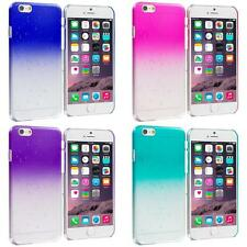 For Apple iPhone 6 Plus Crystal Raindrop Waterdrop Hard Case Cover Cle