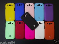 Premium Hard Back Shell Cover Case Matte For Samsung I9300 Galaxy S III & Neo