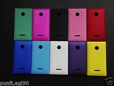 Premium Imported Hard Back Shell Cover Case Matte For Nokia Lumia 435