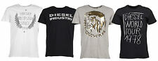 Diesel T-Shirt Mens Crew Neck Slim Fit 4 Styles Nitare Cookie Mohican Barn New