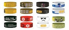 STAR WARS - OFFICIAL  RUBBER WRISTBAND c3po chewbacca darth vader r2d2 yoda