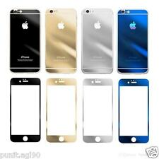 Premium Mirror Effect Tempered Glass Screen Protector for iPhone 4 5 6 & 6 Plus