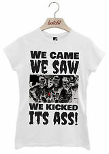 BATCH1 WE CAME WE SAW GHOSTBUSTERS HALLOWEEN FANCY DRESS WOMENS T-SHIRT