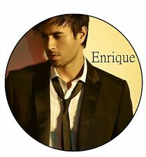 Parche imprimido /Iron on patch, Back patch, Espaldera /- Enrique Iglesias, C