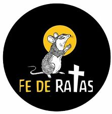 Parche imprimido /Iron on patch, Espaldera, Back patch /- Fe De Ratas, A