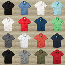 HOLLISTER by Abercrombie Men`s Polo Shirt  Pearl Street NEW S,M,L,XL Spring 2016