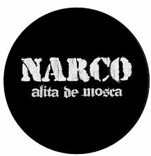 Parche imprimido /Iron on patch, Back patch, Espaldera /- Narco