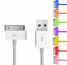 CAVO USB CABLE x IPHONE 4 4S 3 3GS IPAD IPOD DATI CARICABATTERIA CARICABATTERIE