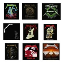 # METALLICA - OFFICIAL SEW-ON PATCH patches logo kill em all master of puppets