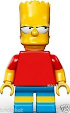 LEGO THE SIMPSONS - BART SIMPSON FIGURE + FREE GIFT - V.RARE - BESTPRICE - NEW