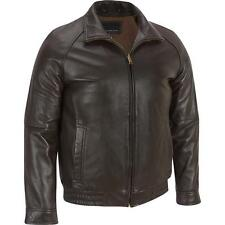 Wilsons Leather Mens Lamb Bomber Jacket W/ Zipout Thinsulate Lining