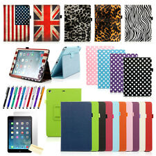Slim Magnetic Leather Smart Case Cover For Apple iPad Air Hard Back Sleep / Wake