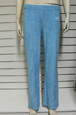 Adidas Missy Elliot blue cotton casual tracksuit loungewear trousers size 8 - 14