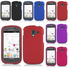 For Samsung Galaxy Exhibit T599 T-Mobile Colorful Rubberized Hard Case Cover