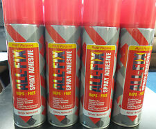 Multi Purpose ALL-FIX 500ml Spray Adhesive HAPS FREE **Multi-purchase offers**