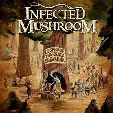 Parche imprimido /Iron on patch, Back patch, Espaldera / - Infected Mushroom