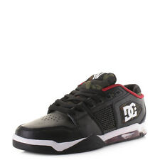 Mens Dc Shoes Ryan Villopoto Black Camo Leather Skate Trainers Shoes Size