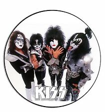 Parche imprimido /Iron on patch, Back patch, Espaldera / - Kiss, H