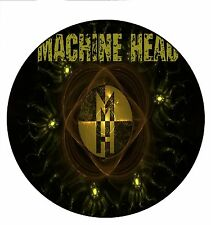 Parche imprimido /Iron on patch, Back patch, Espaldera / - Machine Head, A
