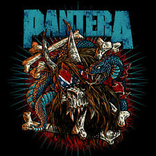 Parche imprimido /Iron on patch, Back patch, Espaldera /- Pantera