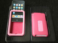 Apple Ipod Touch 2nd 3rd Gen Crystal/ Leather Case