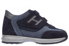 HOGAN scarpe JUNIOR Sneakers HXT0920966059V2AH1 CAMOSCIO INTERACTIVE 63839 +