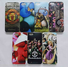 Ultra Thin Soft Silicone Printed Back Case Cover For Apple Iphone 5 / 5s