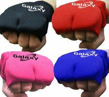 Karate Mitts Elasticated Padded Martial Arts Boxing Training MMA inner  Gloves