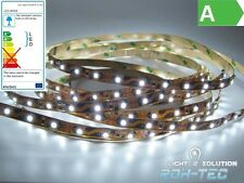 (4€/m)0, 50m-5 m flexible LED Tira/Tira - 60x 1-Chip SMD/ m - blanco 12V IP20