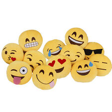 Personalized Emoji Emoticon Cushion Soft Pillow Cute Stuffed Plush Toy Gift
