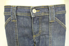 Juicy Couture womens cropped short denim jeans pants lndigo wash RRP £60 size 30