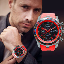 Stainless Steel Luxury Sports Analog Quartz Modern Hombres Reloje Fashion Watch
