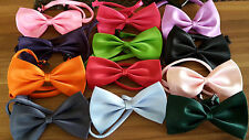 Men Boys Kids Children Pre tied satin party classic bow ties Christmas bow tie